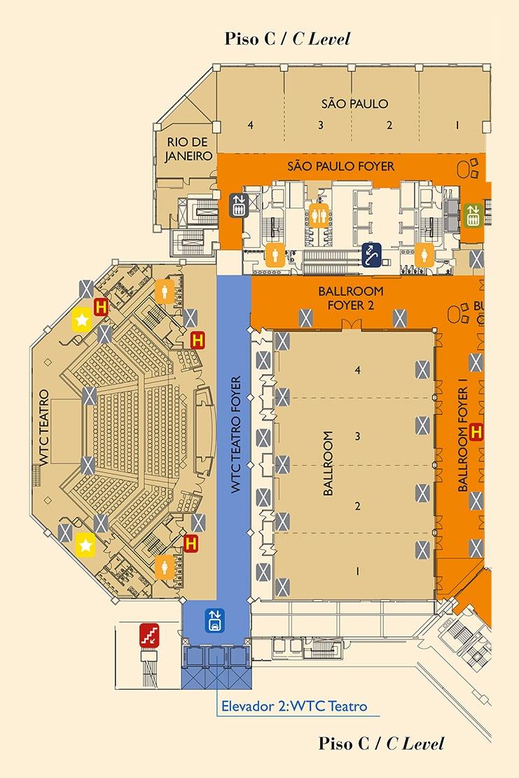Mapa WTC